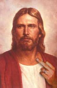 We don't REALLY think that Jesus hates people, we just have very poor impulse control.